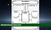 Choose Book Graphic Organizer Posters: All-About-Me Web: Grades 3-6: 30 Fill-in Personal Posters