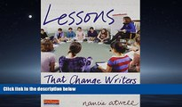 Enjoyed Read Lessons That Change Writers: Lessons with Electronic Binder