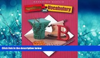 eBook Download Houghton Mifflin Spelling and Vocabulary: Student Book (consumable) Grade 8 2004