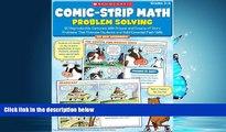 Choose Book Comic-Strip Math: Problem Solving: 80 Reproducible Cartoons With Dozens and Dozens of