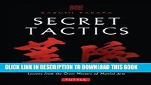 [PDF] Secret Tactics: Lessons from the Great Masters of Martial Arts Full Colection