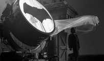 Zack Snyder Reveals J.K. Simmons as Commissioner Gordon in Front of the Bat Signal!