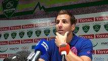 """Gonzalo Quesada après Section Paloise - Stade Français : """"Pau mérite sa victoire mais le score est lourd"""""""