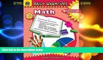 Big Deals  Daily Warm-Ups: Math, Grade 1  Free Full Read Best Seller