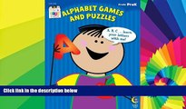 Big Deals  Alphabet Games and Puzzles Stick Kids Workbook, Grade PreK (Stick Kids Workbooks)  Best
