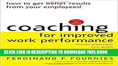 Collection Book Coaching for Improved Work Performance, Revised Edition