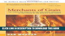 New Book Merchants of Grain: The Power and Profits of the Five Giant Companies at the Center of
