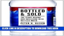Collection Book Bottled and Sold: The Story Behind Our Obsession with Bottled Water