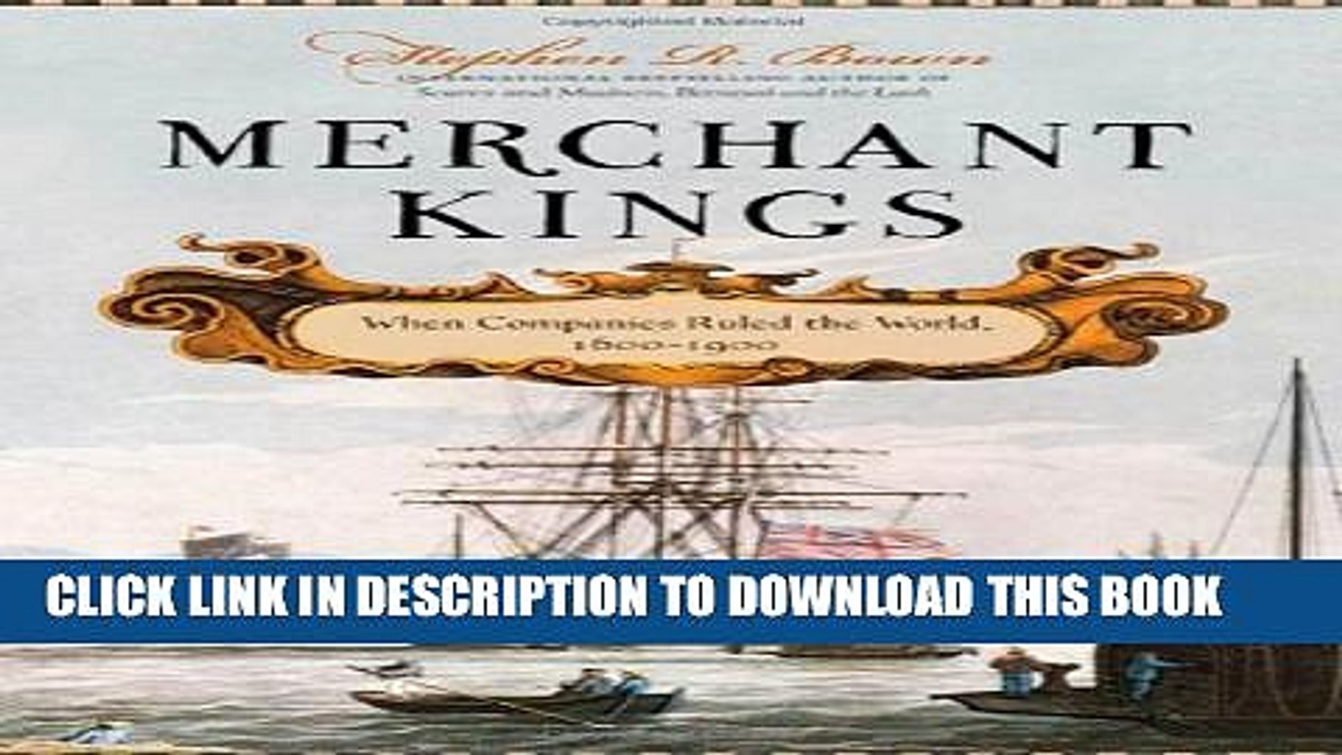 Collection Book Merchant Kings: When Companies Ruled the World, 1600--1900