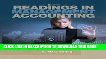 New Book Readings in Management Accounting (6th Edition)