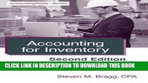 New Book Accounting for Inventory: Second Edition