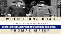 New Book When Lions Roar: The Churchills and the Kennedys