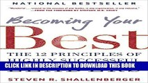 New Book Becoming Your Best: The 12 Principles of Highly Successful Leaders