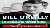 New Book Killing Kennedy: The End of Camelot