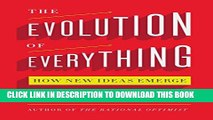 Collection Book The Evolution of Everything: How New Ideas Emerge