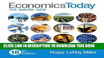 New Book Economics Today: The Macro View (18th Edition)