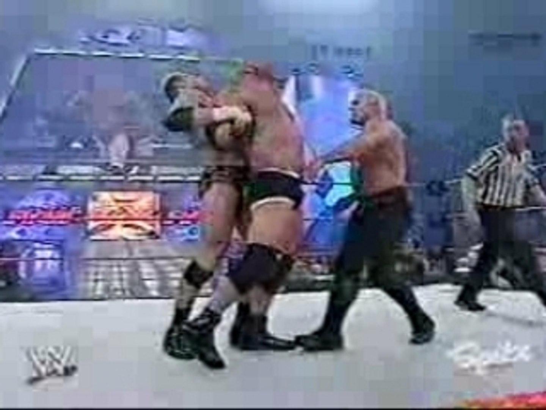 WWE - Raw 19-01-2004 - Goldberg vs Test vs Scott Steiner