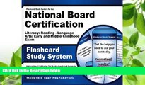 there is  Flashcard Study System for the National Board Certification Literacy: Reading -