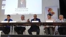 Discours de Raffi Krikorian, Président de l'UGA LYON-DECINES qui accueille l'Assemblée Générale des Arbitres du District de Lyon et du Rhône de Football.