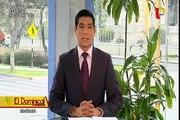 VIDEO: sujeto que intentó pegar afiche muere aplastado por pared