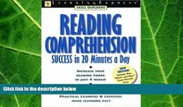 behold  Reading Comprehension Success (Skill Builders (Learningexpress))