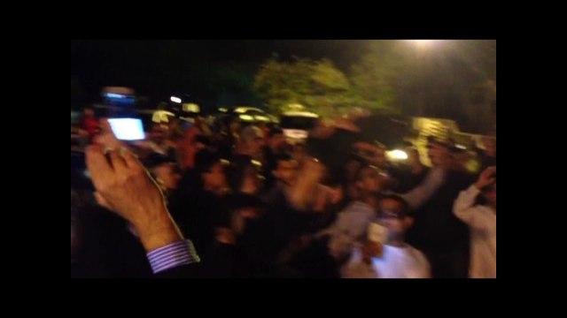 Fireworks on the 63rd Birthday Celebration of  Mr. Altaf Hussain