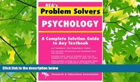 there is  Psychology Problem Solver (Problem Solvers Solution Guides)