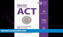 different   ACT English Practice Book (Advanced Practice Series) (Volume 7)
