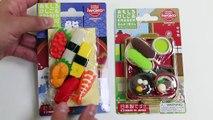 Iwako Japanese Puzzle Eraser Cute Realistic Sushi & Soup Japanese Cuisine Shapes!