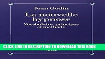 [Read PDF] Nouvelle Hypnose (La) (Collections Sciences - Sciences Humaines) (French Edition)