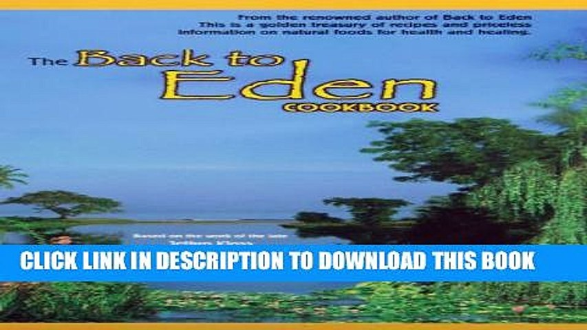 Collection Book The Back to Eden Cookbook