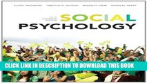 [PDF] Social Psychology, Fifth Canadian Edition Plus NEW MyPsychLab with Pearson eText -- Access