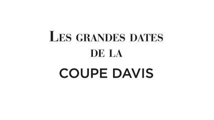 Les grandes dates de l'histoire de la Coupe Davis de tennis