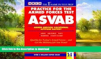 READ  Practice for the Armed Forces Test: Asvab/Armed Services Vocational Aptitude Battery (14th