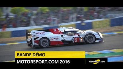 Bande Démo Motorsport.com 2016