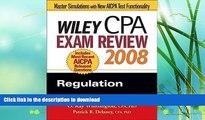 FAVORITE BOOK  Wiley CPA Exam Review 2008: Regulation (Wiley CPA Examination Review: Regulation)
