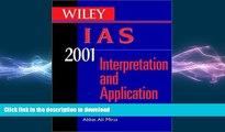 FAVORITE BOOK  Wiley IAS 2001 for Windows: Interpretation and Application of International