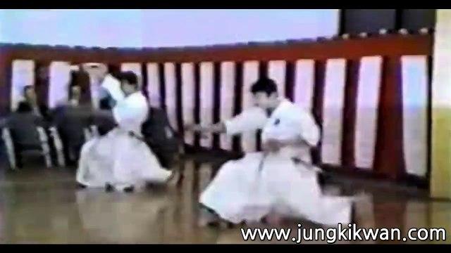 The 4th Korea & Japan Iaido at Tokyo Japan Budokan Kendo Dojo on May 3, 1989