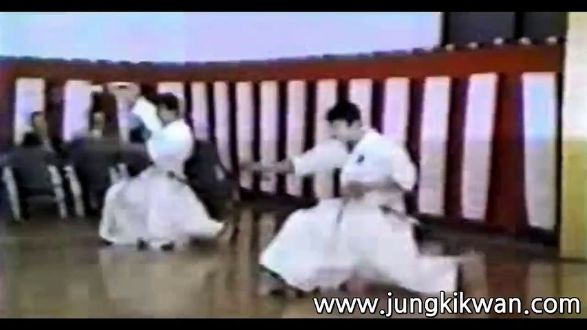 The 4th Korea & Japan Iaido at Tokyo Japan Budokan Kendo Dojo on May 3, 1989