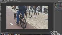 Faire tomber un cycliste avec photoshop ? Tour de magie ! Accident Vélo