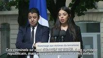 Hommage: des proches de victimes d'attentats témoignent