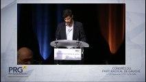 Congrès PRG 2016 - Discours de Yanis Mallion
