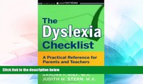 Big Deals  The Dyslexia Checklist: A Practical Reference for Parents and Teachers  Free Full Read