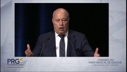 Congrès PRG 2016 - Discours de Jean-Michel Baylet