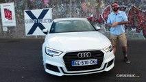 Essai – Audi A3 berline restylée : un bien pour une malle