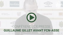 Guillaume Gillet avant FCN-ASSE