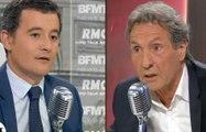 Boudé par Nicolas Sarkozy, Jean-Jacques Bourdin s'énerve sur Gérald Darmanin