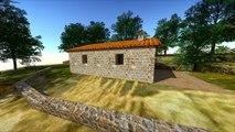 Projet de construction d'une bergerie neuve dans un style architectural typique en Corse