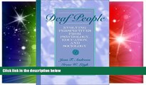 Big Deals  Deaf People: Evolving Perspectives from Psychology, Education, and Sociology  Best
