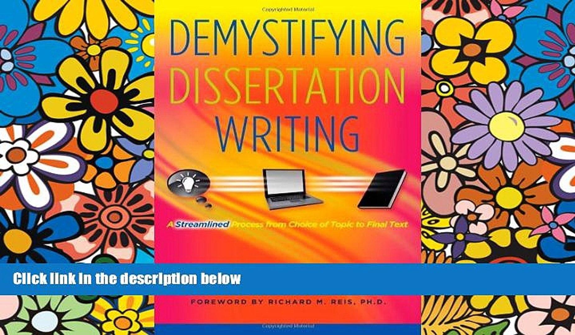 finishing your dissertation